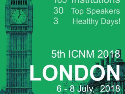Vem aí – 5ª Edição do International Congress on Naturopathic Medicine [ICNM]